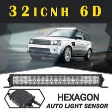 "32"" 6D 420W CREE LIGHT BAR Work FLOOD SPOT Combo OFFROAD Driving Lamp VS 42/52"""
