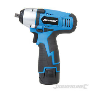"""Silverline 638542 10.8V Impact Wrench 3/8"""" Drive Tracked Delivery"""