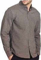 BC Clothing Men's Expedition Stretch Shirt (Red Black White, X-Large)