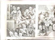Très grande gravure Anglaise de 1800 (60 cm X 43). Voir photos et Textes.