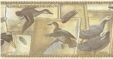 Ducks Mallard Blue Winged Green Winged Teal Emperor Goose Wallpaper bordeR Wall