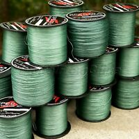 300M/500M/1000M Green 8 Strands Spectra PE Dyneema Braid Fishing Line 12LB-160LB