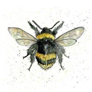 Bumble Bee Pencil Collection Greetings Card Sarah Boddy birthday bumblebee