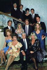 "JOAN COLLINS - DYNASTY - LINDA EVANS -  12"" x 8"" Photo 1987 Main Cast Shot #8089"