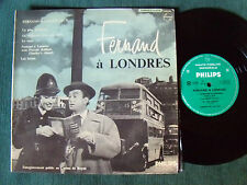 FERNAND (RAYNAUD) à LONDRES - 25 cm LP 33T ROYAT 1958 PHILIPS B 76.455 R MONORAL
