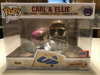 CARL and ELLIE NYCC 2020 Funko Pop Disney Pixar's UP Shared Sticker BL Exclusive
