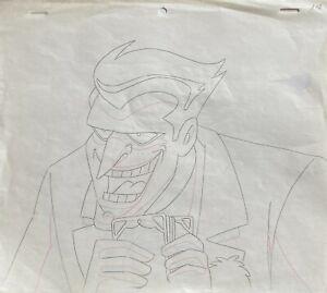 BRUCE TIMM rare JOKER Original Production Drawing ALMOST GOT 'IM BTAS WB COA