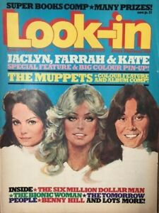 Look In Magazine - July 1977 - Charlie's Angels / Muppets (Kermit)