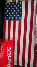 American flag perfectly enormous vintage usa cotton very as is and collectable