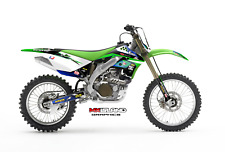 2006 2007 2008 KXF 250 GRAPHICS KIT KAWASAKI KX250F KX F 250F RIDGELINE DECAL
