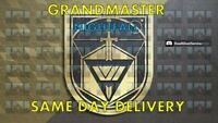 Grandmaster Nightfall Plat Rewards/Conqueror Seal PS4/Xbox/PC