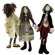 Cloth doll sewing patterns.  Choose either pattern, or take both