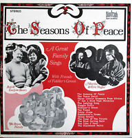 The Seasons Of Peace A Great Family Sings Biograph BLP 12033 NM Christmas LP