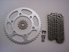 HONDA CRF450X CRF 450 X SPROCKET 13/51 & EK SRO-6 O-RING CHAIN SET 2005-2014 SLV