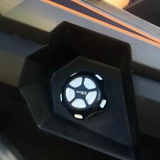Polaris Scrambler 1000 2013 and up  Gas Cap  Billet aluminum  Alba Racing  Black
