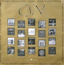 Crosby, Stills & Nash 1991 Album Collection Original Double Sided Promo Poster