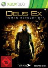 X360/XBOX 360 gioco-Deus Ex: Human Revolution (usk18) (con imballo originale)