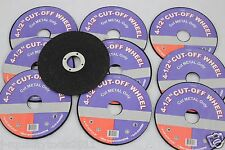 "100 PACK 4 1/2"" CUT OFF WHEELS FIT 4 1/2"" DEWALT ANGLE GRINDERS GREAT PRICE"