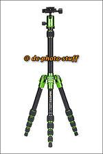MeFoto BackPacker A0350Q0 Aluminium Tripod Kit * GREEN * 13 lbs loading