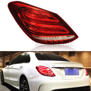 Left Side Rear Tail Light Lamp for Mercedes Benz C Class W205 Saloon 2013-2020