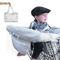 Baby Shopping Trolley Cart Seat Pad Child High Chair Cover Protector Foldable