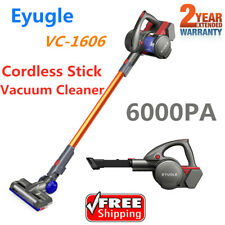 2-in-1 Handheld Cordless Stick Vacuum Cleaner Hepa Filter Rechargeable 6000Pa Us