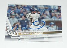 MANUEL MARGOT SIGNED AUTO'D 2017 TOPPS CARD #401 SAN DIEGO PADRES