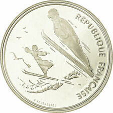 [#736344] Coin, France, 100 Francs, 1991, BE, AU(55-58), Silver, KM:995