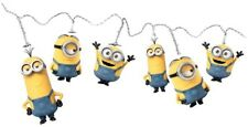 Kids Bedroom Lighting Minions String Lights Home Indoor 15 White Led Party Gift