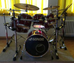 Sonor Force 3000 RED CRIMSON, Rock-Schlagzeug
