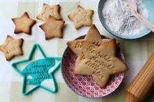 Cortador de galletas de estrella con la frase Twinkle twinkle little star