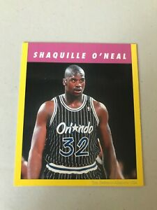 Shaquille O'neal very rare insert from children's math book