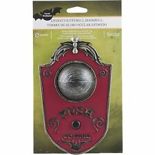 Haunted House Animated Eyeball Doorbell Halloween Prop and Decoration Scary
