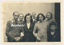 Foto Pilot/ Flieger mit Familie   2.WK (f698)
