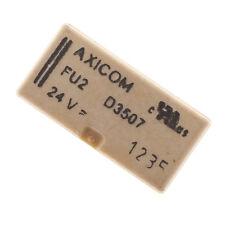 2x Axicom Signalrelais FU2D3507 24 VDC  2A / 250 VAC 8 Pins