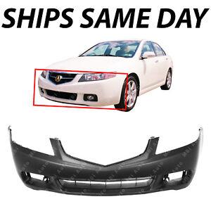 CarPartsDepot 2009-2014 Compatible With ACURA TSX Sedan Sport Wagon Front Bumper Face Cover AC1000177