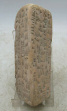 More details for circa 3000 bc ancient near eastern clay tablet with early form of writing