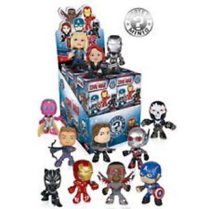 Funko Captain America 3: Civil War  Mystery Minis Set of 12 Marvel Black Panther
