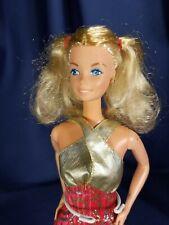 Vintage Mattel 1978 Fashion Photo Barbie Doll & Red Brocade Fashion Lot - NR