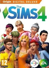 Sims 4 Digital Deluxe Origin Game  (PC) | Downloadable