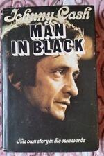 Man In Black by Johnny Cash (HC/DJ 2nd Printing September, 1975)