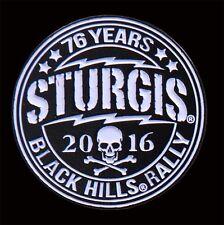 2016 Sturgis Motorcycle Rally 76th Anniversary Poco Loco Enamel Pin