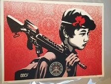 SHEPARD FAIREY ' DUALITY of HUMANITY 2'  LIMITED EDITION PRINT (Banksy)