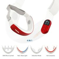 Electric V-Shape Face Lift Massager Double-Chin Removal LED Skin Tightening Belt