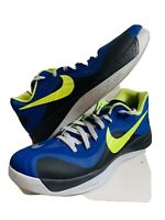 Nike 555034 -402 Hyperfuse Blue Orange Low Basketball Running Shoes AA42 SZ 13