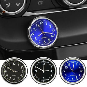 Car Mini Clock Internal Stick-On Digital Watch Motorcycle Quartz Clock Stick-On