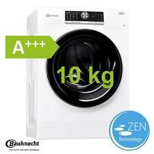 Bauknecht Waschmaschine 10 kg EEK A+++ Display Frontlader freistehend 1400 UpM