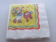 Vintage Rainbow Brite Party Paper Luncheon Napkins Mip