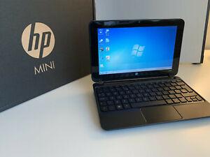 """HP Mini 210-1003sa PC (Pacific Blue, 10.1"""", Win 7. 1 GB DDR2 RAM, 250 GB HDD"""
