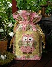 Quilting Sewing Bag Pattern Sally Giblin Rivendale ESME OWL New
